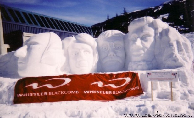 Mount Rushmore at Whistler/Blackcomb
